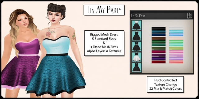 Has Been - Its My Party Dress